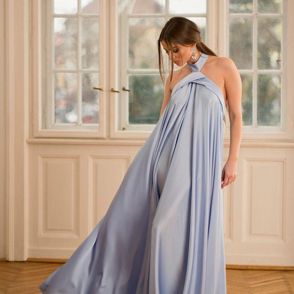 Rochie Alicia din tesatura din fibre naturale